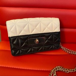 Kate Spade Shoulder Bag ~ Black/Cream